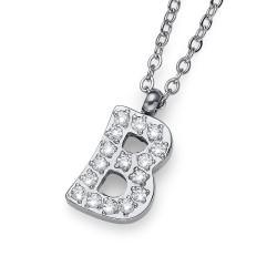 """Přívěsek Oliver Weber Initial """"B"""" - 11831 (crystal)"""