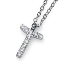 "Přívěsek Oliver Weber Initial ""T"" - 11849 (crystal)"