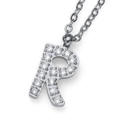 "Přívěsek Oliver Weber Initial ""R"" - 11847 (crystal)"