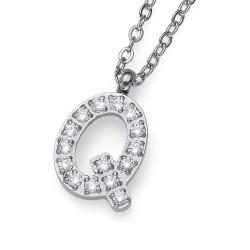 """Přívěsek Oliver Weber Initial """"Q"""" - 11846 (crystal)"""