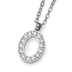 """Přívěsek Oliver Weber Initial """"O"""" - 11844 (crystal)"""