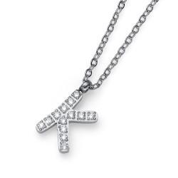 """Přívěsek Oliver Weber Initial """"K"""" - 11840 (crystal)"""