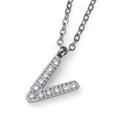 "Přívěsek Oliver Weber Initial ""V"" - 11851 (crystal)"