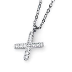 """Přívěsek Oliver Weber Initial """"X"""" - 11853 (crystal)"""