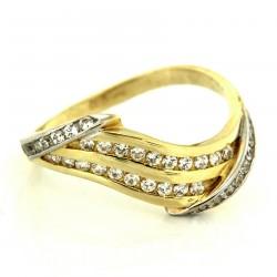 Zlatý prsten 3SZ00066