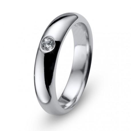 Stříbrný prsten Oliver Weber Future - 63229 (crystal)