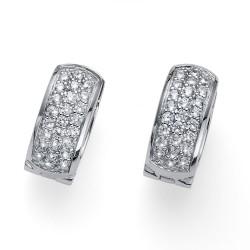 Stříbrné náušnice Oliver Weber Soreal - 62077 - Ag925 (crystal)