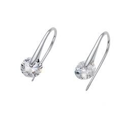 Stříbrné náušnice Oliver Weber Wheely - 62079 - Ag925 (crystal)