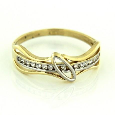 Zlatý prsten R24