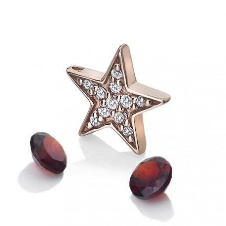 Přívěsek Hot Diamonds Anais element hvězda Granat RG AC111
