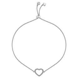 Stříbrný náramek Hot Diamonds Love DL567