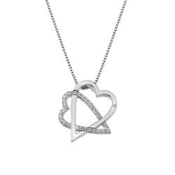 Stříbrný přívěsek Hot Diamonds Adorable DP693