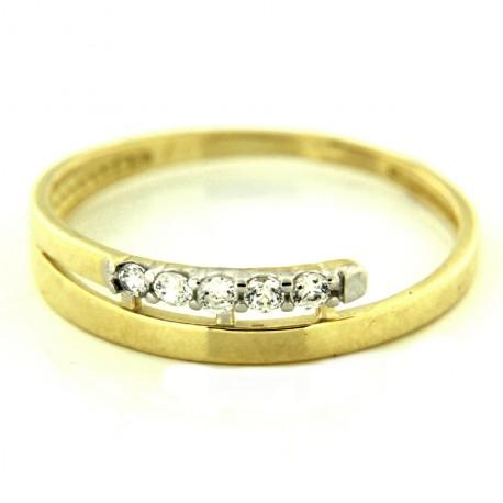 Zlatý prsten YZ-881