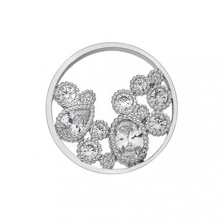 Přívěsek Hot Diamonds Emozioni Freedom Spirito Libero Coin 444-445