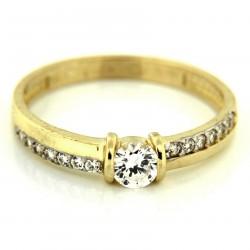 Zlatý prsten PYZ1017