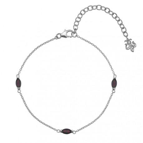 Náramek Hot Diamonds Anais Granát AB001