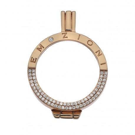 Stříbrný přívěsek Hot Diamonds Emozioni Reflessi Coin Keeper RG EK045-46