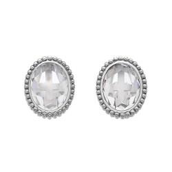 Stříbrné náušnice Hot Diamonds Emozioni Innocence EE028
