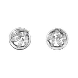 Stříbrné náušnice Hot Diamonds Emozioni Alloro Innocence EE026