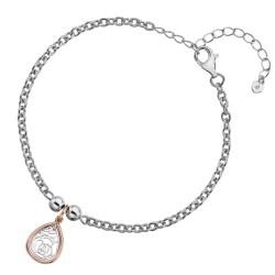 Stříbrný náramek Hot Diamonds Luxury DL562
