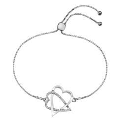 Stříbrný náramek Hot Diamonds Adorable DL576