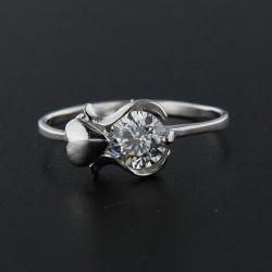 Stříbrný prsten R036