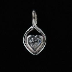 Stříbrný přívěs P019