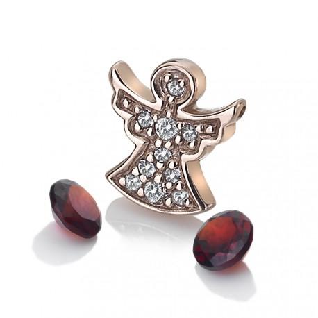Přívěsek Hot Diamonds Anais element anděl Granát RG AC105