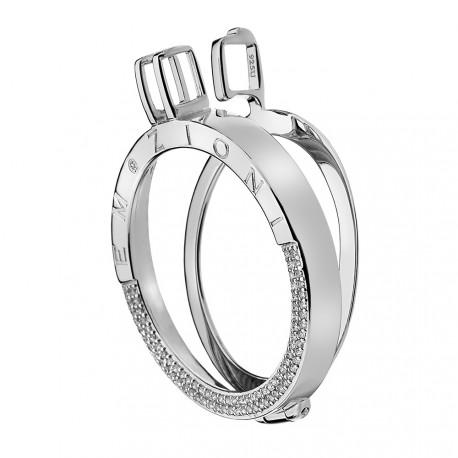 Stříbrný přívěsek Hot Diamonds Emozioni Reflessi Coin Keeper EK044