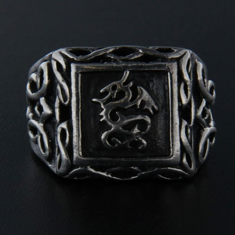 Stříbrný prsten R015