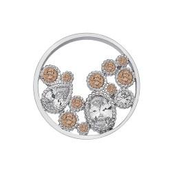 Přívěsek Hot Diamonds Emozioni Spirito Libero Freedom Champagne Coin 448-449