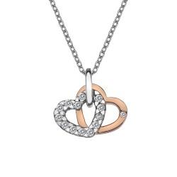 Přívěsek Hot Diamonds Valentines white topaz DP683