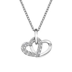 Přívěsek Hot Diamonds Valentines white topaz DP682