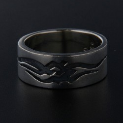Stříbrný prsten R006