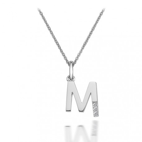 Přívěsek Hot Diamonds Micro M Clasic DP413