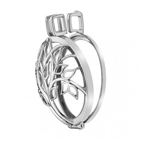 Stříbrný přívěsek Hot Diamonds Emozioni Vita Coin Keeper EK040