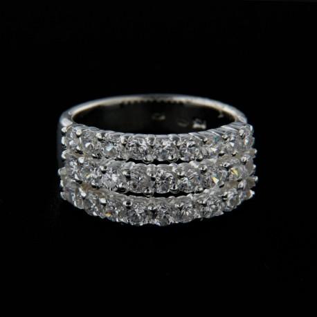 Stříbrný prsten R123