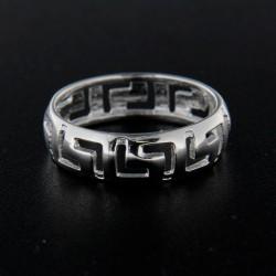 Stříbrný prsten R142