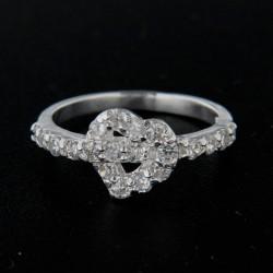Stříbrný prsten R143