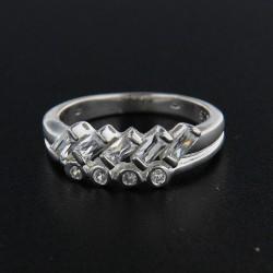 Stříbrný prsten R159