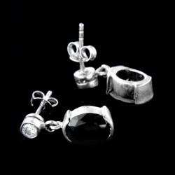 Stříbrné náušnice E128