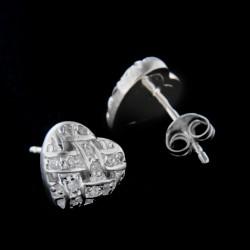 Stříbrné náušnice E356