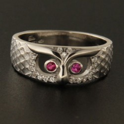 Stříbrný prsten R2161 R