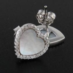 Stříbrné náušnice E2790