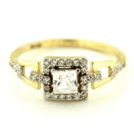 Zlatý prsten TK497