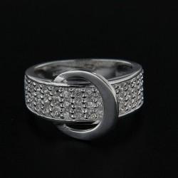 Stříbrný prsten R188
