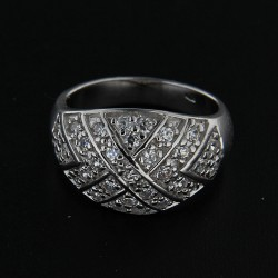 Stříbrný prsten R191