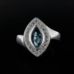 Stříbrný prsten R113