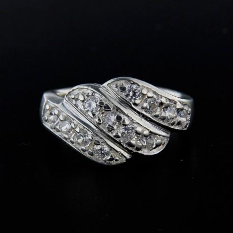 Stříbrný prsten R115
