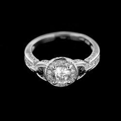 Stříbrný prsten R415